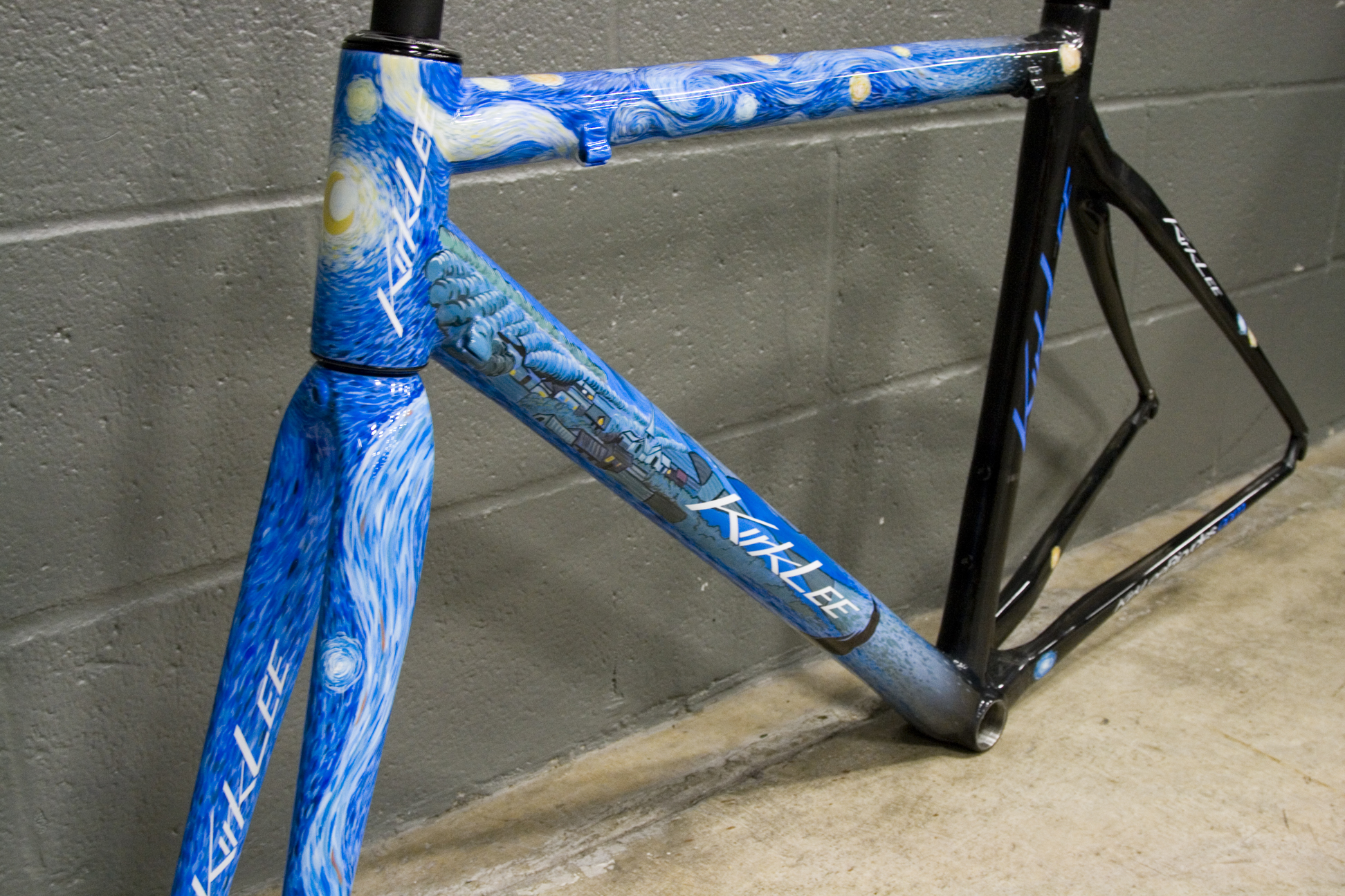 Custom Painted Bike Frames Uk